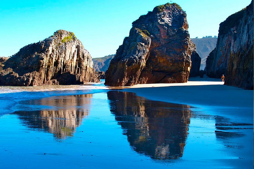 Excelentes playas en la zona de Ribadedeva