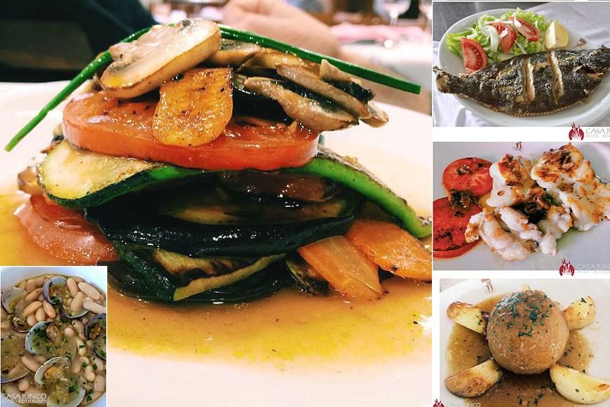 Esmerados platos típicos de la apreciada y sabrosa cocina asturiana