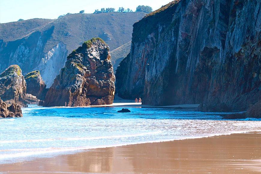 Excelentes playas en la zona de ribadedeva blog - Casa junco colombres ...