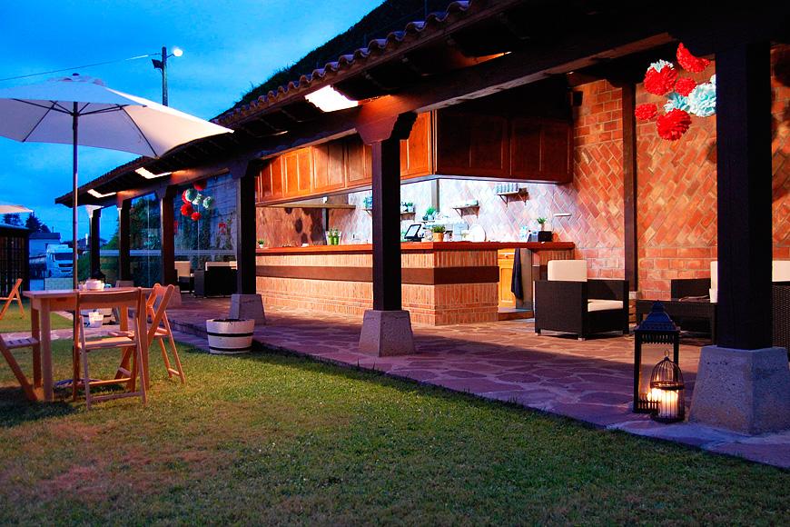 La terraza for Terrazas aire libre